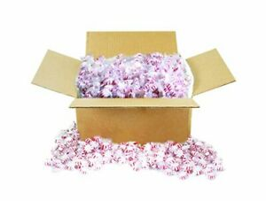 Starlight Peppermints Candy Value Bulk 10lb Box Individually Wr