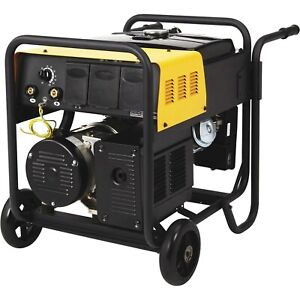 Arc Welder Generator Combo Gas 40 To 130 Amp Dc Weld 4 5 Kw 6 Hr Run