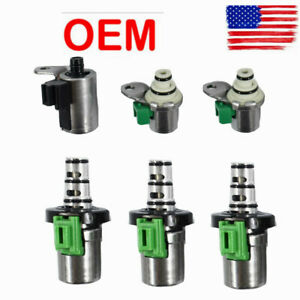 6xtransmission Shift Fit For Ford All 4f27e 4 Speed Automatic Epc Pwm Solenoids