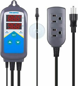 Inkbird Wired Temperature Controller 220v Itc306t Aquarium Thermostat Waterproof