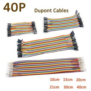 Dupont Cables Wire 40p 2 54mm Jumper Breadboard Wire M m F f M f 10 20 30 40cm