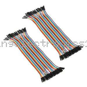 80pcs Dupont Wire Cables 1p 1p Pin Connector 2 54mm 20cm Female New