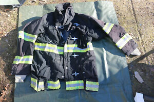 Firefighters Jacket Turnout Gear Fireman Size 44