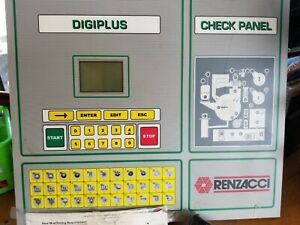 Used Dry Cleaning Equipment Renzacci Computer