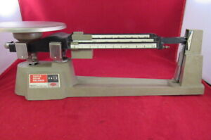 vintage Ohaus Triple Beam Balance Scale 2610 Grams Free Shipping