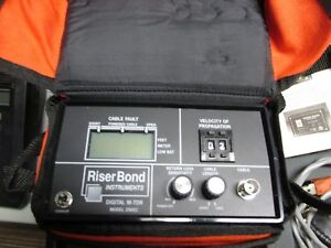 Riser Bond Digital M tdr 2901c Unit