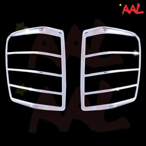 Aal For 1999 2000 01 02 03 04 Jeep Grand Cherokee Tail Light Chrome Bezel Cover