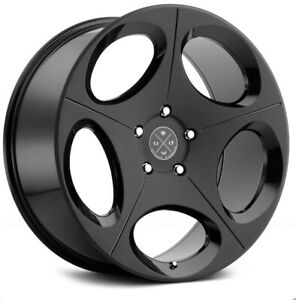 Blaque Diamond Bd77 24 Wheels Gloss Satin W Tires Included