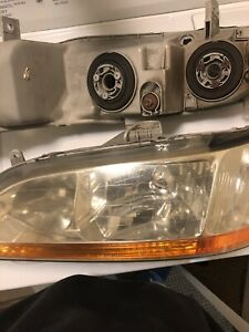 Honda Accord Headlights 1998 1999 2000 2001 2002 Sedan Regular Oem