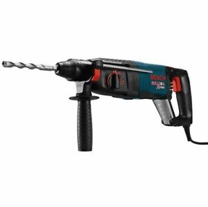 New 8 amp 1 In Corded Variable Speed Rotary Hammer Drill With Auxiliary Handle