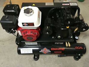 Heavy Duty Power Systems Hd6510th3 10gallons 6 5hp 16cfm 90psi Air Compressor