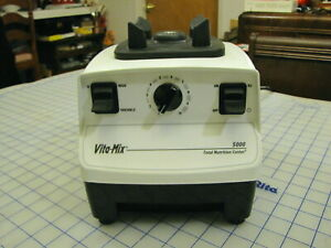 Vita Mix 5000 Vmoio3 White With New Variable Speed Control