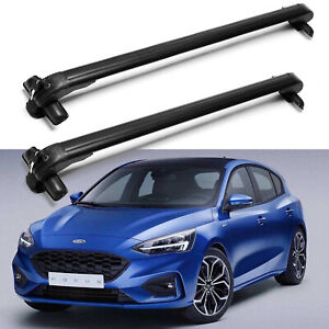 For 2012 2016 Ford Focus 43inch Car Roof Rack Cross Bar Top Luggage Carrier Pair