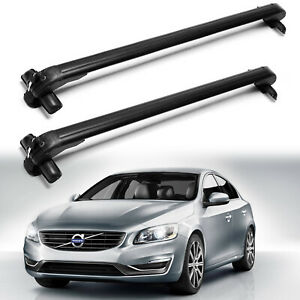 For Volvo C30 S40 S60 S80 2001 2016 Car Top Roof Rack Cross Bar Without Rails 2x