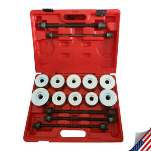New Bearing Race Seal Bush Driver Set Tool Kit Seal Bush Driver Sleeve Removal