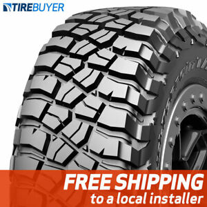 2 New 37x13 50r20 E 10 Ply Bf Goodrich Mud Terrain Ta Km3 37x1350 20 Tires