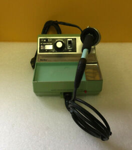 Weller Ec2000 Soldering System Ec2002a 120 V Power Unit Ec1302b Iron Tested