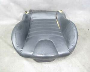 1998 2002 Bmw Z3 M Roadster Coupe Front Seat Bottom Black Napa Leather Heat Oem