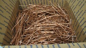 30 Lbs Plus Scrap Bare Copper Wire 1 Metal bright Cable jewelry crafts alt Art