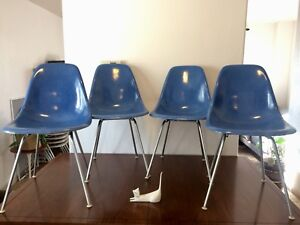 Vintage Mid Century Fiberglass Eames Chairs Shells Only For Herman Miller