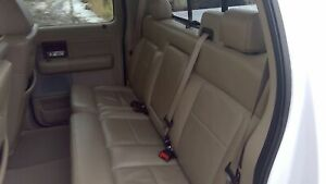 2005 Ford F150 Rear Leather Bench Seat Pebble Interior
