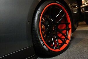 Gfg Giovanna 22 5x114 3 Custom 3 Piece Wheels With New Pirellis Fits Gtr More