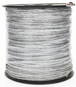 Shock 656 ft Electric Fence Poly Wire Fence Fencing Spool New
