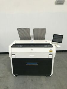 Kip 7170 Wide Format Copier Printer Scanner Only 39k Meter Reading