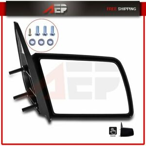 Manual Side View Door Mirror Passenger Right Rh For 88 98 Gmc Chevy Pickup Truck