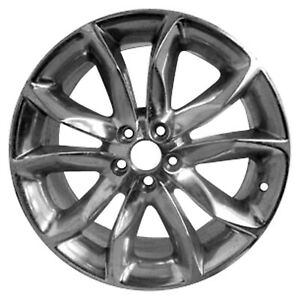New 20x8 5 Alloy Wheel 5 Double Spokes Polished Face