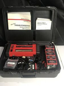 Snap On Mt2500 Diagnostic Scanner With 7 Cartridges Chips Accessories Case