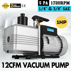 12cfm Vacuum Pump Single Stage Sae 1 4 34 5 Pounds Medical Appliances