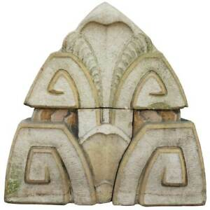 Antique American Art Deco Terracotta Architectural Theater Acroterion C 1920