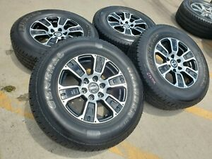 16x8 American Racing Tacoma Chevy Chrome 0 Wheels Rims Tires 6x139 6x5 5