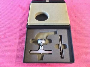 Mitutoyo 8 Inch Dial Depth Indicator Model 7238 4 In Base Machinist Tool