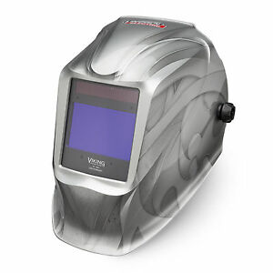 Lincoln Viking Heavy Metal 2450 Welding Helmet K3029 3