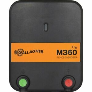 3506042gallagher M300 85 Acre 17 Mile 110v Electric Fence Fencer Charger G380504
