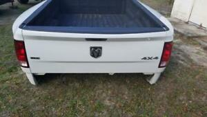 2010 2018 Dodge Ram 3500 Dually 8ft Truck Bed Box Tailgate Takeoff Bumper White