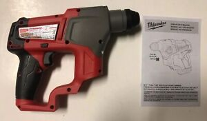 New Milwaukee 2416 20 M12 12v Li ion Cordless Fuel 5 8 Sds Plus Rotary Hammer