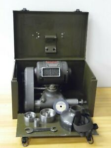 Dumore Tool Post Grinder 1 2 Hp No 5 With 5 Pulleys Metal Box