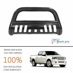 3 Black Bull Bar Push Front Bumper Grill Guard Fits 2007 2009 Ford Expedition