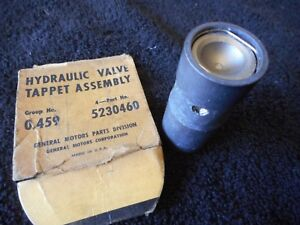 Nos Chevy 235 Hydraulic Lifter Tappet 5230460 Gm Stovebolt 6 Six