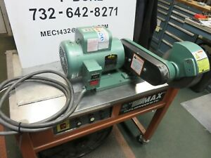 Burr King Model 800 With Baldor 1 5 Hp 115 230 Single Phase Deburring