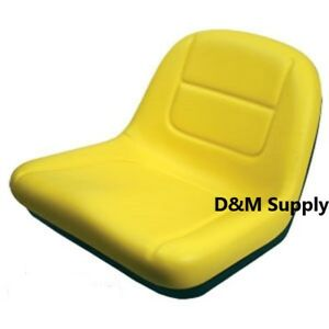 High Back John Deere Mower Seat L100 L120 L130 135 145 L110 G110 L105 L107 L118
