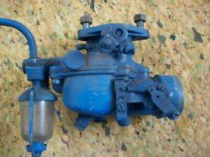 Vintage Zenith Carburetor Gas Engine Ford Farm Tractor Glass Bowl
