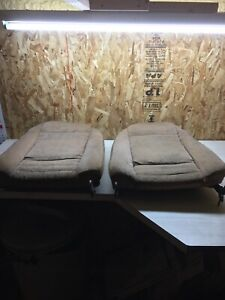 1978 Trans Am Firebird Tan Custom Cloth Bucket Seat Cover Covers Seats Backs
