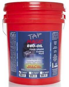 5 Gal Tap Magic Eco oil Biodegradable Fluid Pail for Drilling tapping milling