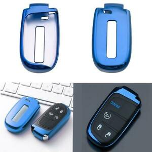 Tpu Soft Key Fob Holder Cover Fit For Jeep Dodge Chrysler 200 300 Accessories