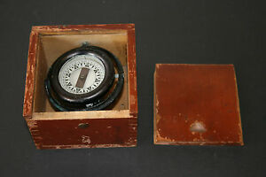 Vintage 1943 Ship S Compass Wilcox Crittenden Co Nautical Works