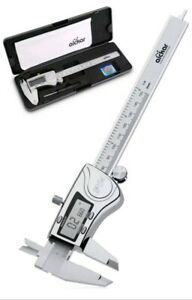 Aickar Digital Caliper Stainless Steel Electronic Machinists Tool 6inch